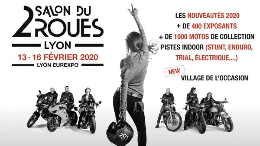 Visuel salon du 2 roues Lyon 2020